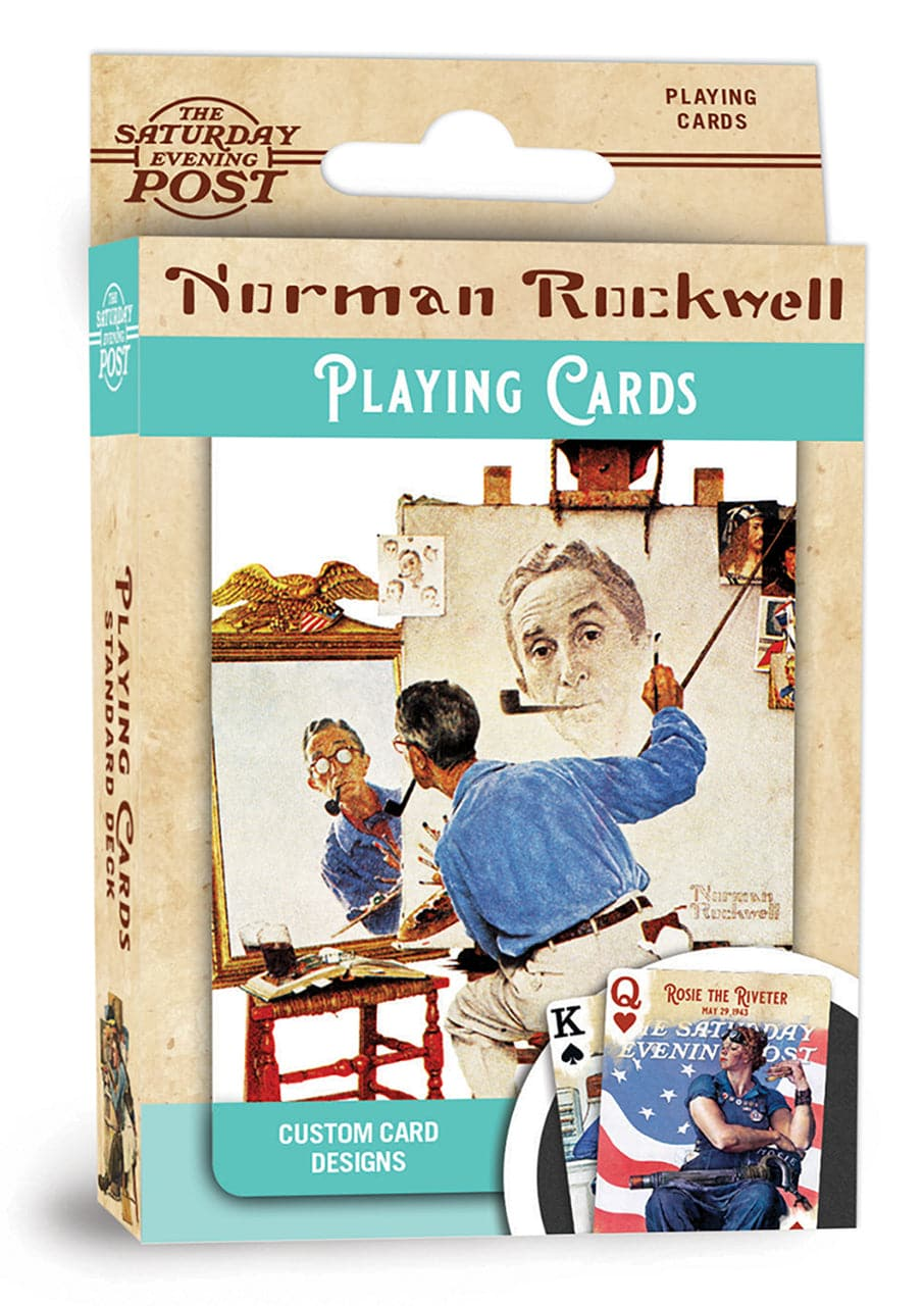 Norman Rockwell - Playing Cards