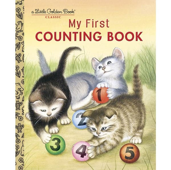 Penguin Random House My First Counting Book - A Little Golden Book - Legacy Toys