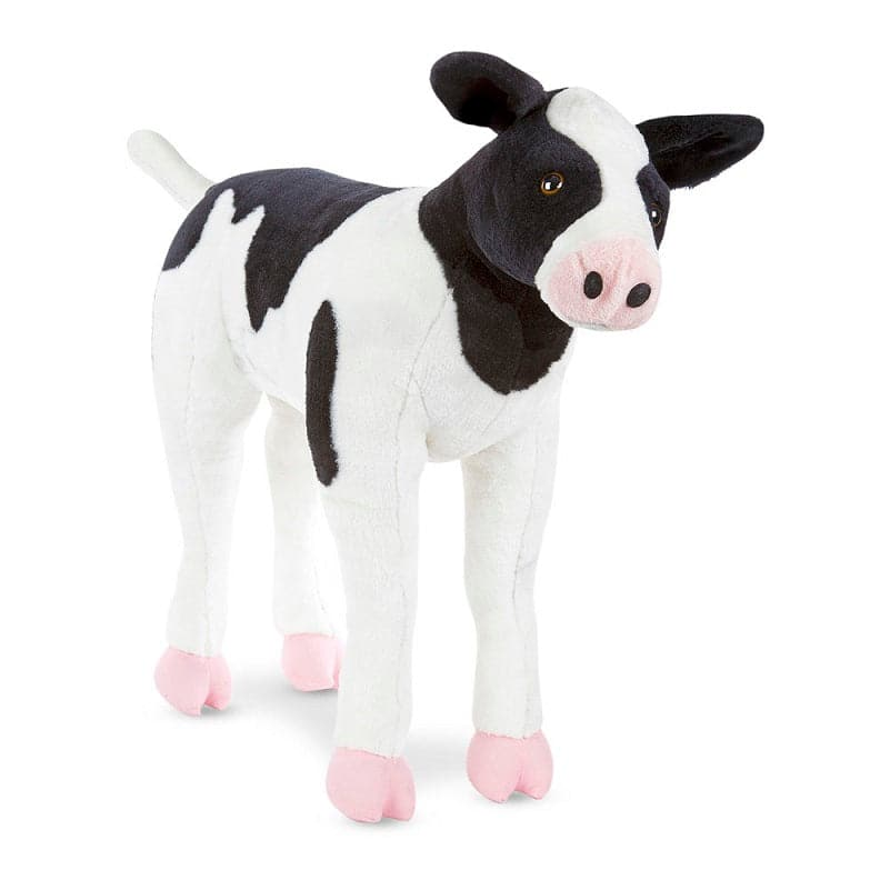 Melissa & Doug Calf - Lifelike Animal Giant Plush - Legacy Toys