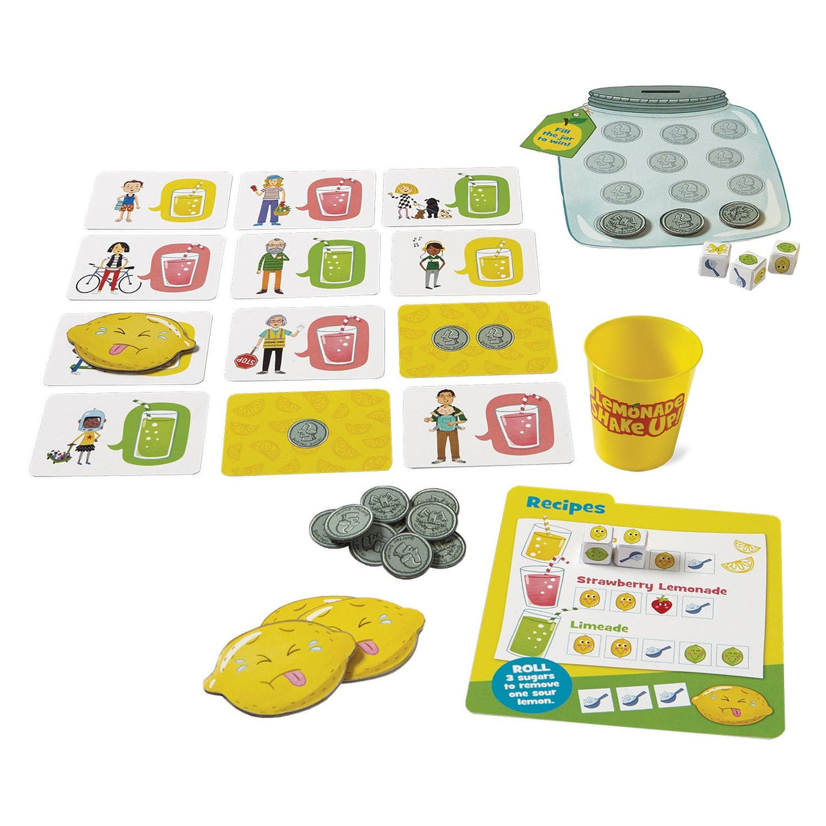 Peaceable Kingdom Lemonade Shake Up - Legacy Toys