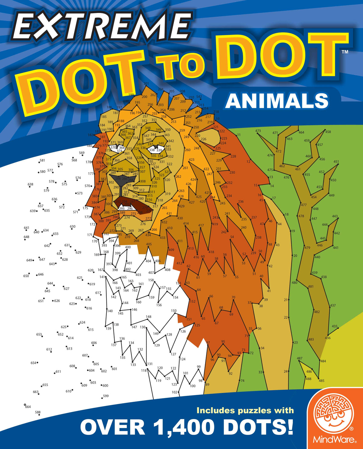 MindWare Extreme Dot to Dot - Animals - Legacy Toys