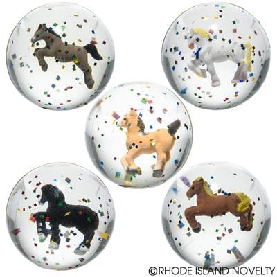 "1.75"" 45 MM Horse Ball - Assorted Styles"