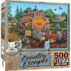 Masterpieces Country Escapes - Antique Barn - 550 Piece Puzzle - Legacy Toys