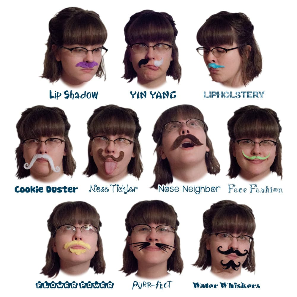 Mrs. Moustachio's Top Ten Girliest Mustaches of All Time