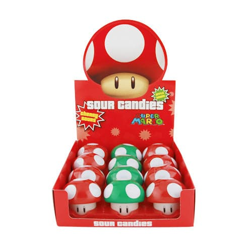 Nintendo Mushroom Sours - Assorted Colors