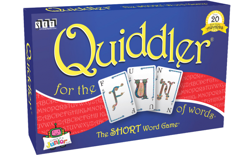 Set Enterprises Quiddler Card Game - Legacy Toys