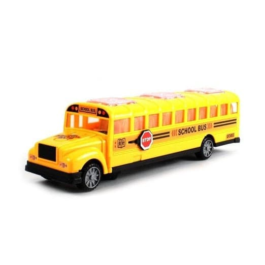 "5"" Diecast School Bus with Lights & Sound"