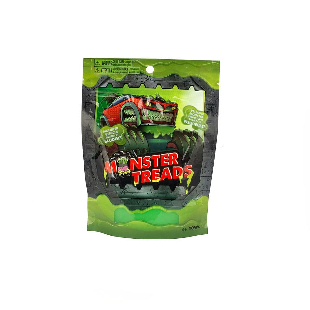 Monster Treads Vehicle with Sludge - Assorted Styles
