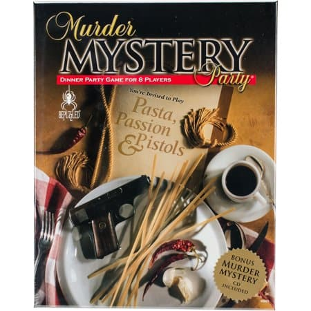 Pasta, Passion & Pistols Murder Mystery Party Game