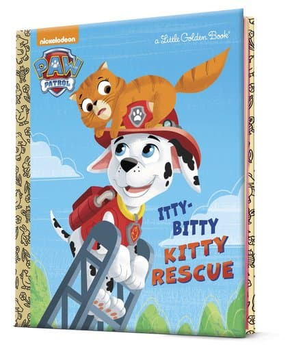 Paw Patrol Itty-Bitty Rescue - A Little Golden Book