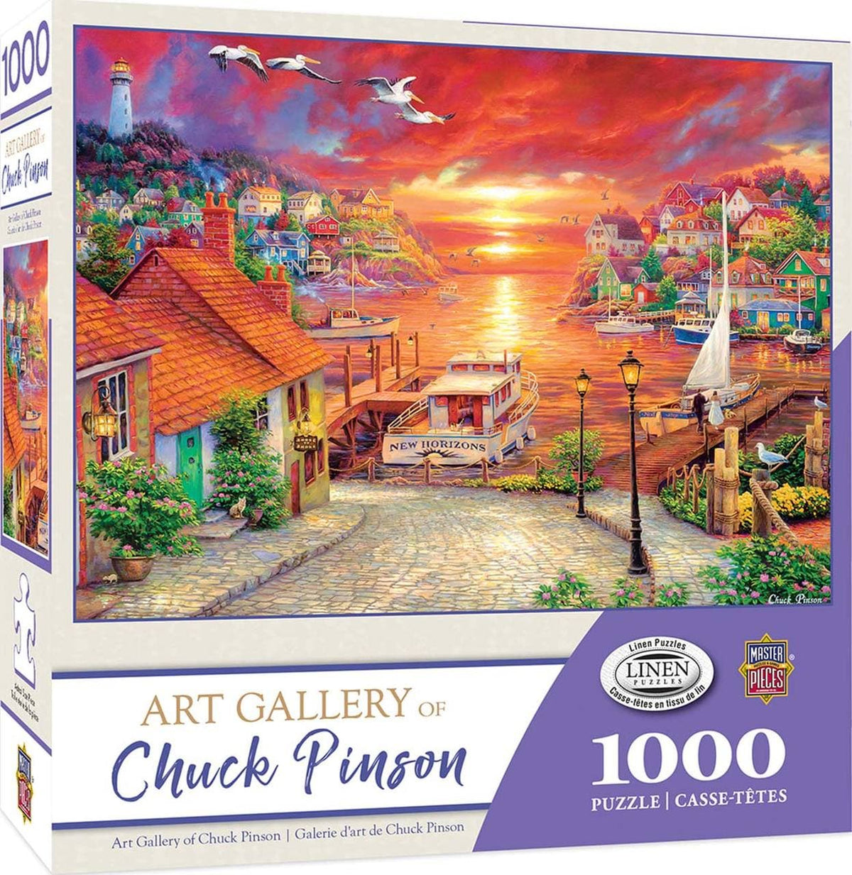 Chuck Pinson Art Gallery - New Horizons - 1,000 Piece Puzzle