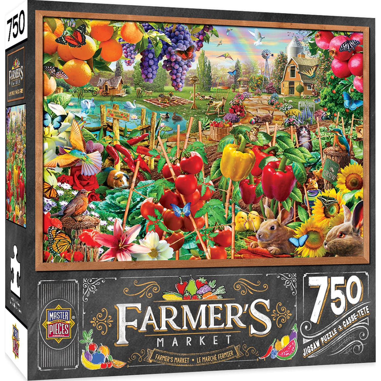 Farmer's Market - A Plentiful Season - 750 Piece Puzzle