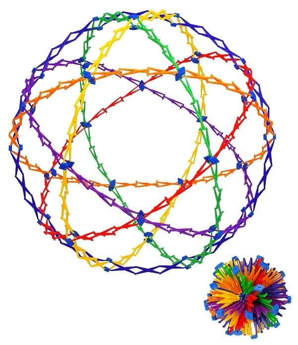Hoberman Sphere - Rings - Legacy Toys