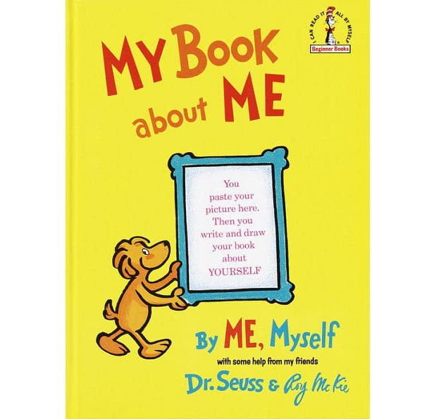 Dr. Seuss My Book About Me, By Me, Myself - Legacy Toys