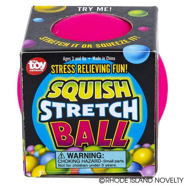 "2.5"" Squish Stretch Gummi Ball"