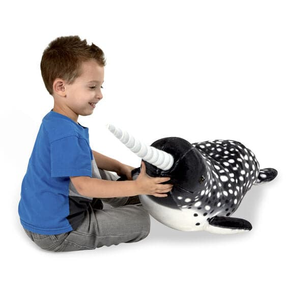 Narwhal Giant Plush