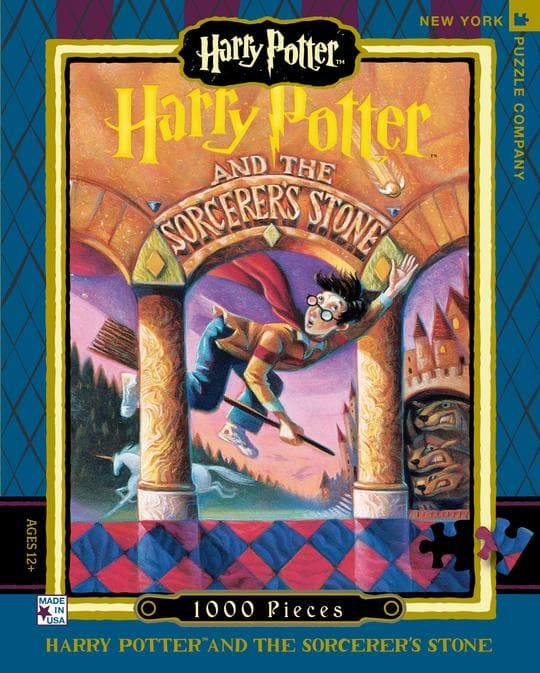 Harry Potter - Sorcerer's Stone - 1,000 Piece Puzzle