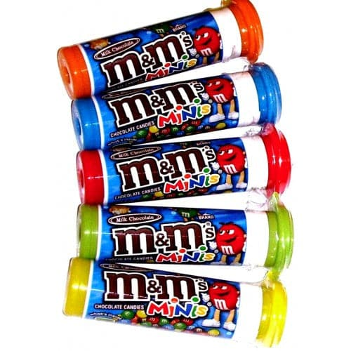 M&M's Mini Milk Chocolate Candies 1.08 oz. Tube