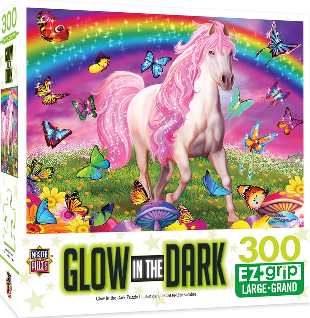 Glow in the Dark - Rainbow World 300 Piece