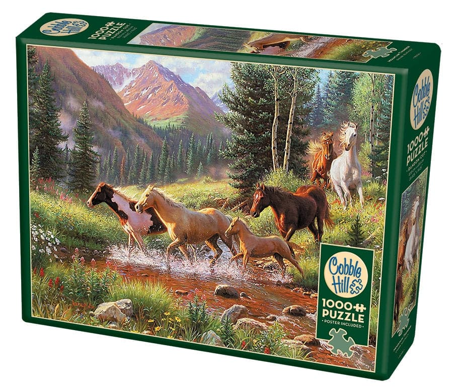 Cobble Hill Puzzles Mountain Thunder - 1,000 Piece Puzzle - Legacy Toys