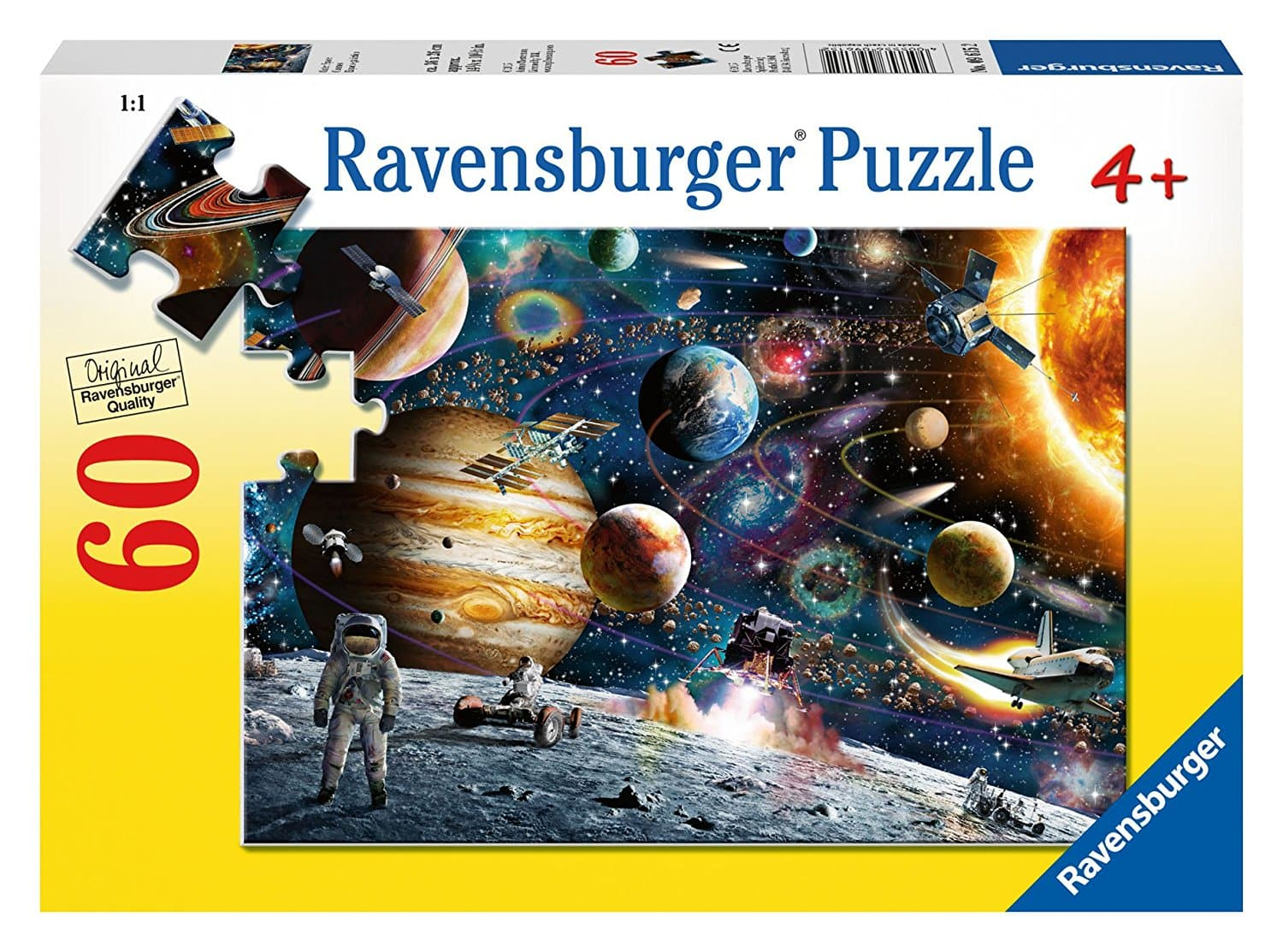 Outer Space - 60 Piece Puzzle