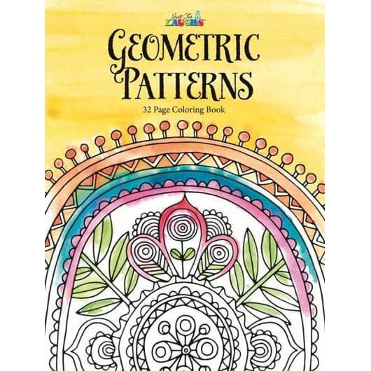 Adult Coloring Book - Geometric Patterns