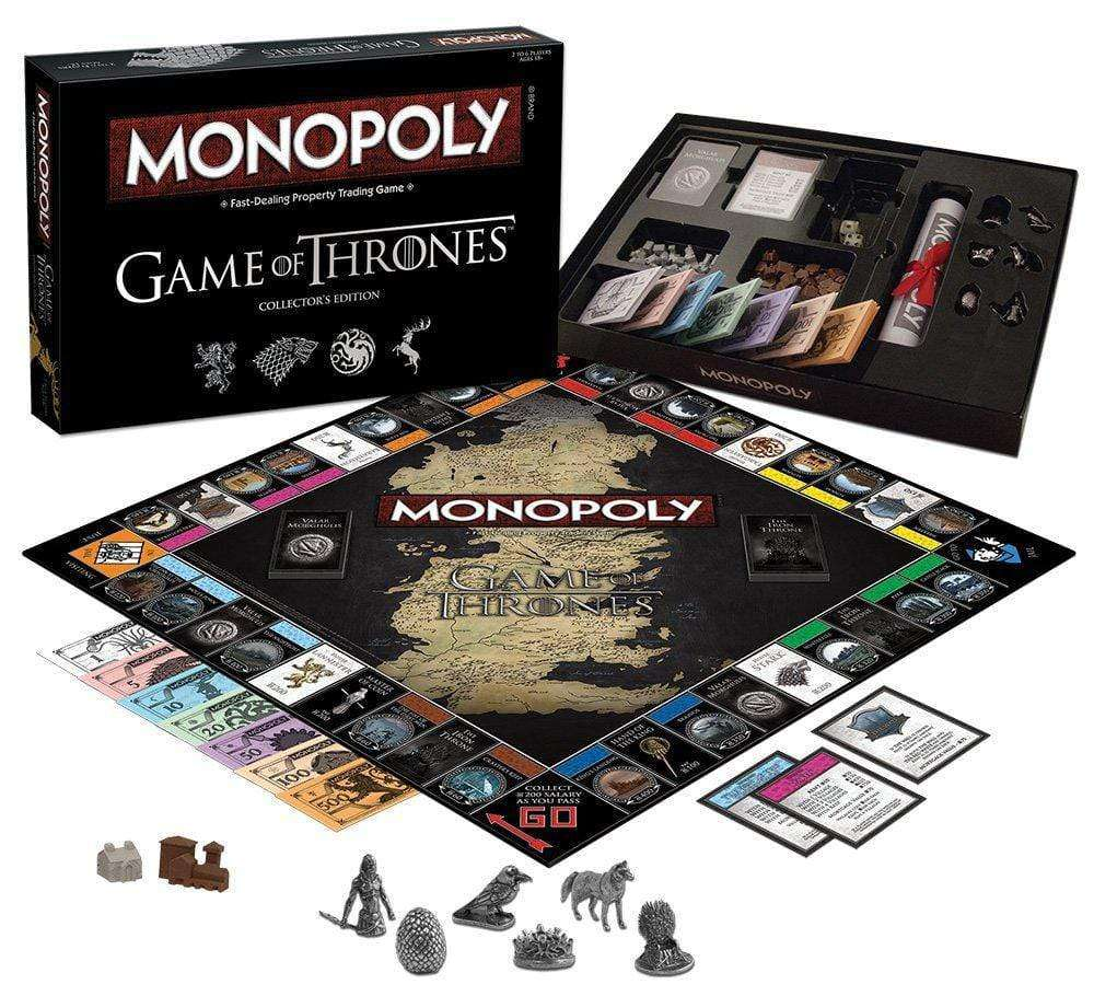 USAopoly Monopoly - Game of Thrones - Legacy Toys