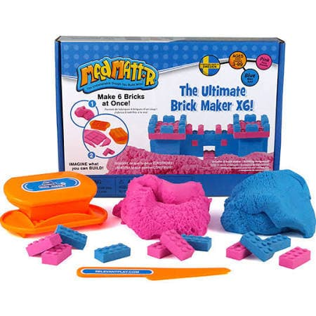 Mad Mattr The Ultimate Brick Maker - Blue & Pink X6