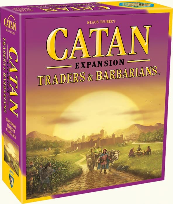 Catan Studio Catan Expansion - Traders & Barbarians - Legacy Toys