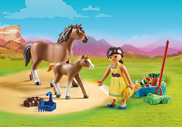 Pru with Horse and Foal - Legacy Toys