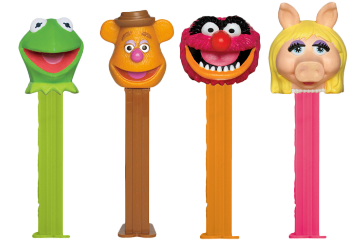 Pez Assortment - Disney - Muppets