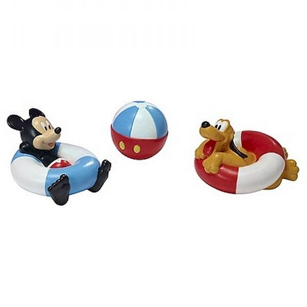 Disney Bath - Mickey Mouse Squirtee 3 Pack - Legacy Toys