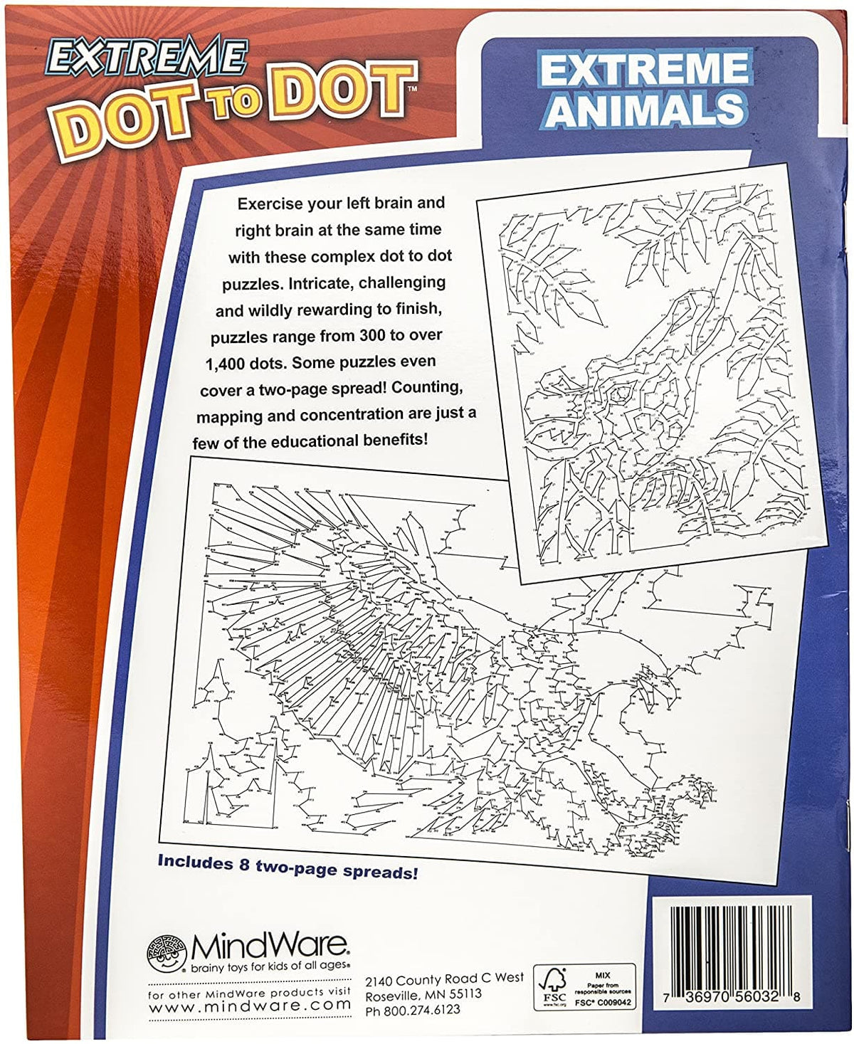 Extreme Dot to Dot - Extreme Animals