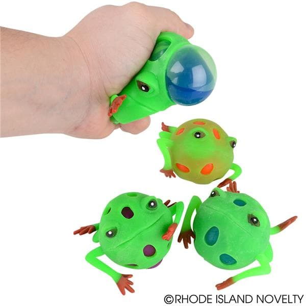 "3"" Frog Mesh Squeeze Ball"