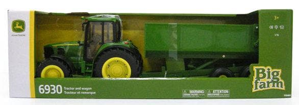 John Deere 1:16 Big Farm John Deere 6930 with Dump Wagon - Legacy Toys