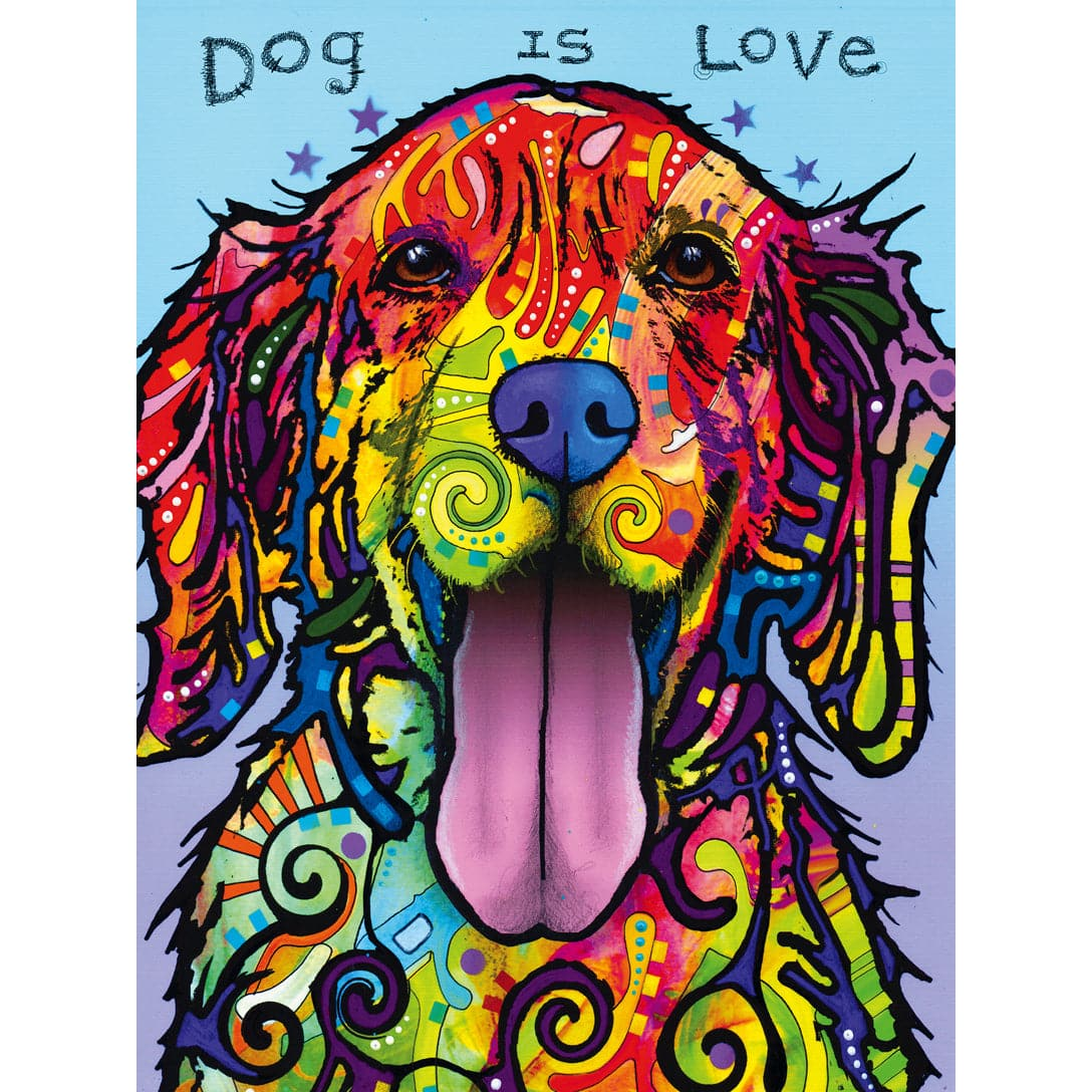 Dean Russo - Dog is Love - 300 Piece Puzzle