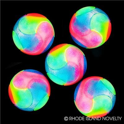 "The Toy Network 2"" Flashing Rainbow Ball - Legacy Toys"