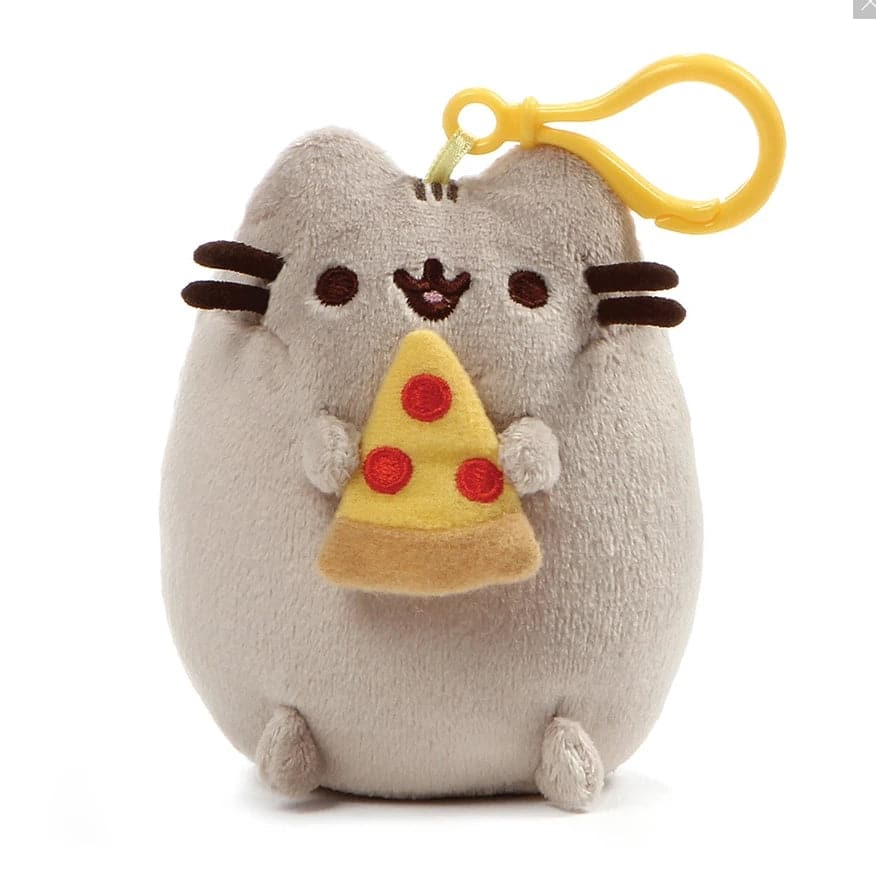 "Gund Pusheen Pizza Clip, 5"" - Legacy Toys"