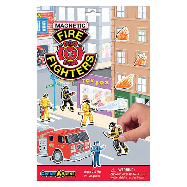 Create-A-Scene - Firefighters