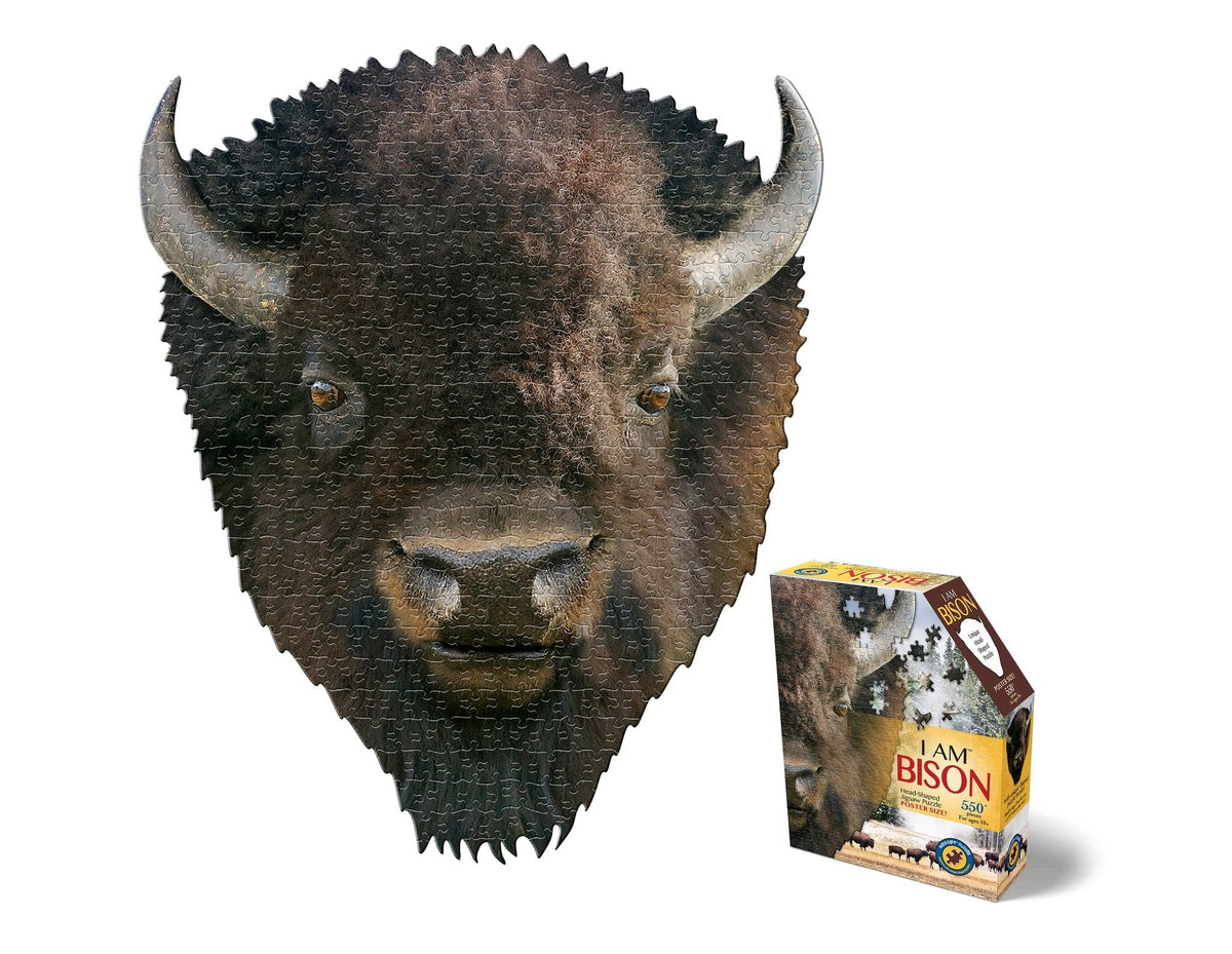 I am Bison - 550 Piece Puzzle