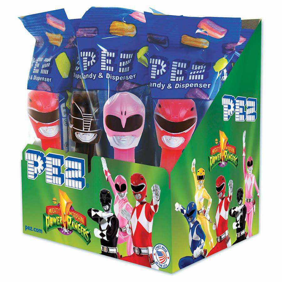 Pez Assortment - Power Rangers