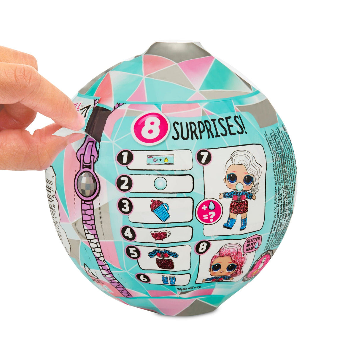 L.O.L. Surprise Glitter Globe Assorted Styles