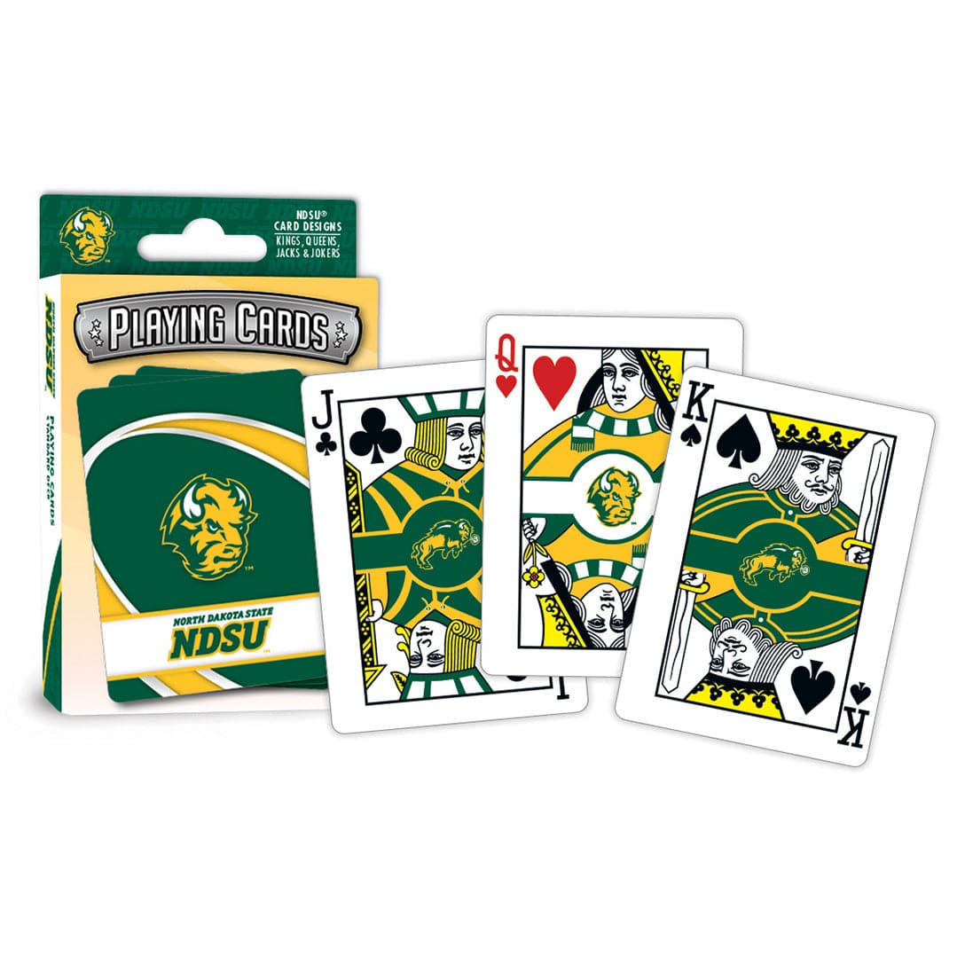 Masterpieces North Dakota State Playing Cards - Legacy Toys