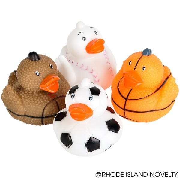 "The Toy Network 2"" Sports Ball Rubber Duckies - Legacy Toys"