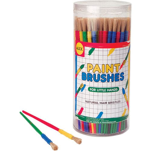 Canister of Fine Paint Brushes - Each - Legacy Toys