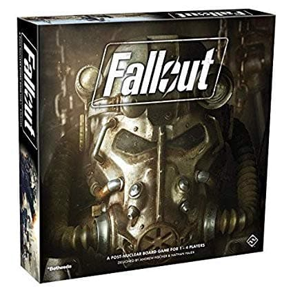 Fantasy Flight Games Fallout: The Board Game - Legacy Toys