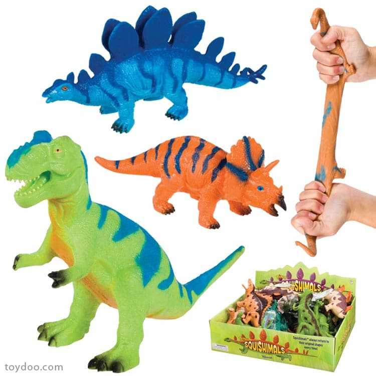 Toy Smith Dinosaur Squishimals - Legacy Toys