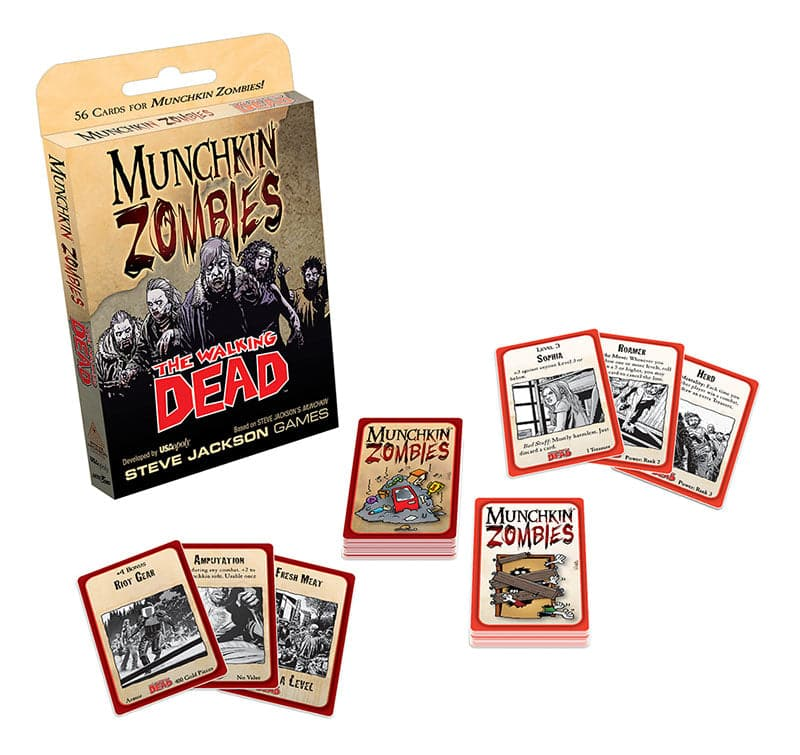 Munchkin Zombies: The Walking Dead - Legacy Toys