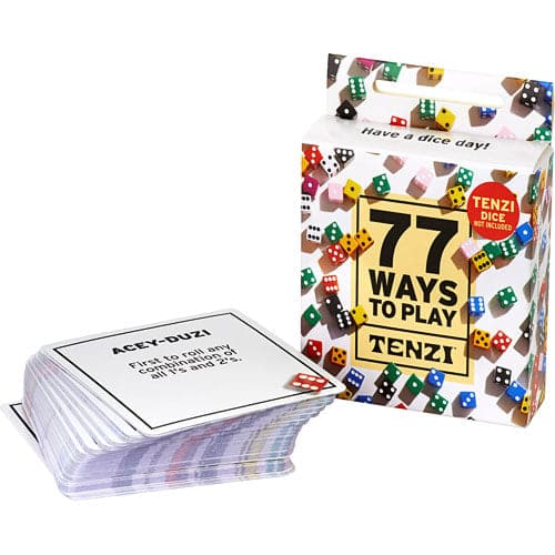 Carma Games 77 Ways to Play Tenzi - Legacy Toys