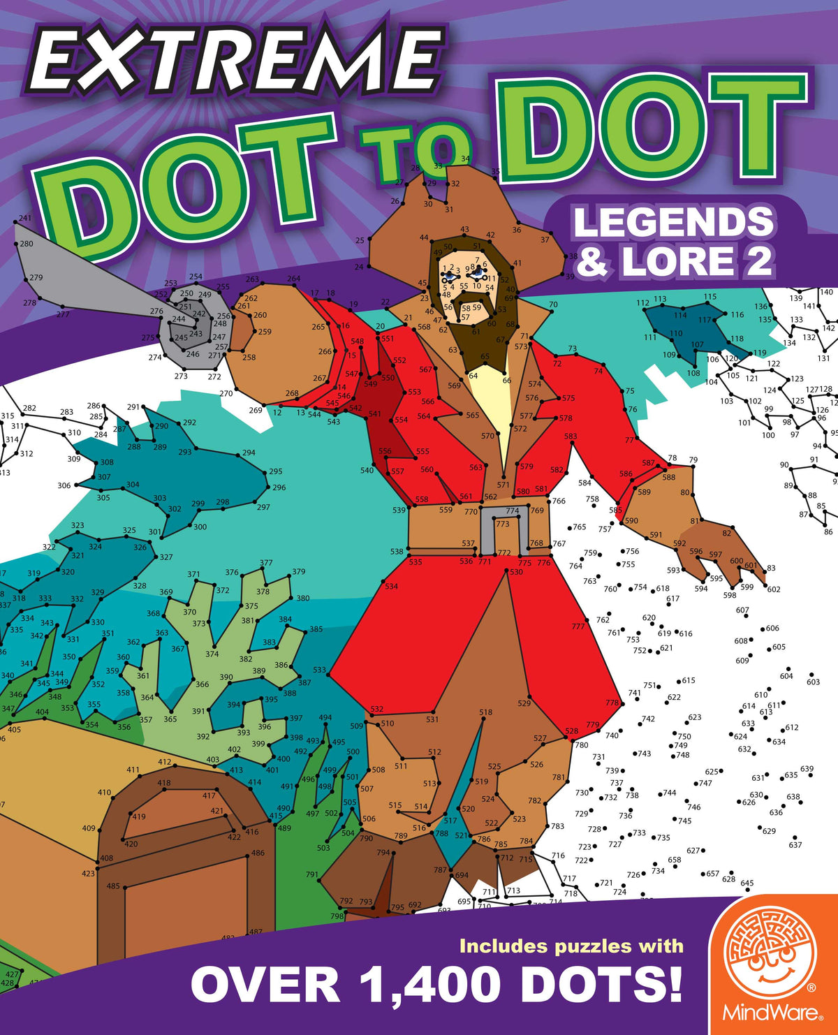 Extreme Dot to Dot - Legends & Lore 2